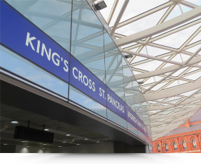 Kings Cross St Pancras Station London